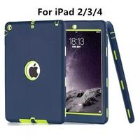 Zimoon Case For Apple IPad 2 3 4 Retina Kids Safe Armor Shockproof Heavy Duty Silicone