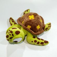 цена на 40cm  Green Sea Turtle Finding Nemo Crush Tortoise Plush Toys Super Soft Turtle Stuffed  Plush Toy Gifts For Children