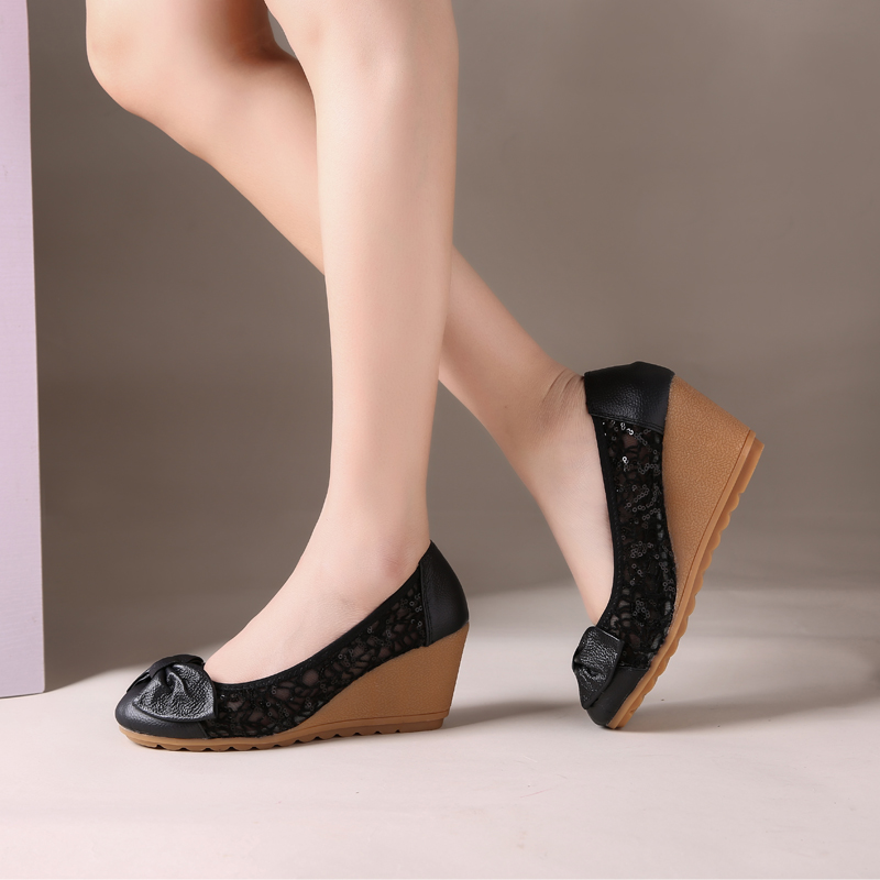 woman sandals genuine leather heels (7)