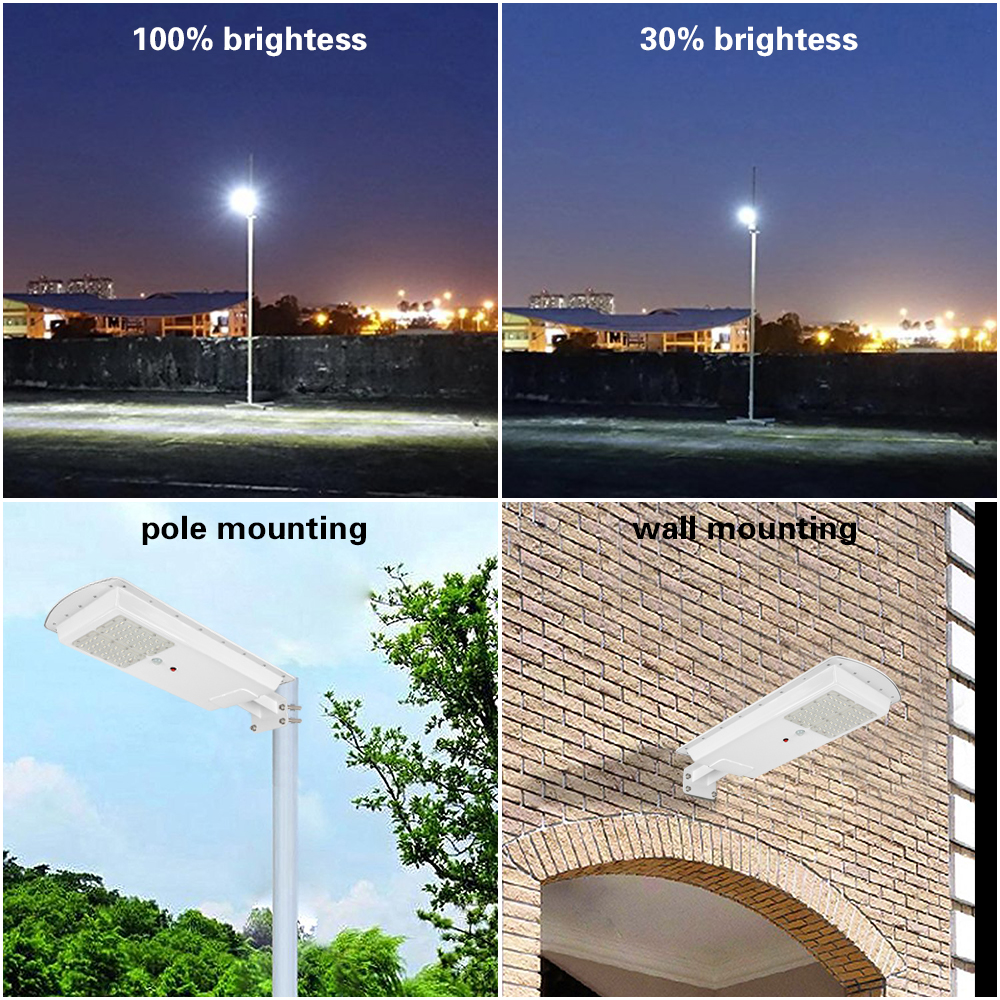 GO OCEAN Solar Lamps LED Solar Waterproof Wall Integrated LED Street Light Solar Lamp Motion Sensor Outdoor Garden Light (7)
