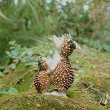 Hedgehog fairy garden decorations