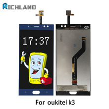 100% Tested Original LCD Screen For Oukitel K3 MTK6750T LCD Display Touch Screen Panel Digitizer Replacement Parts+Free Tool set
