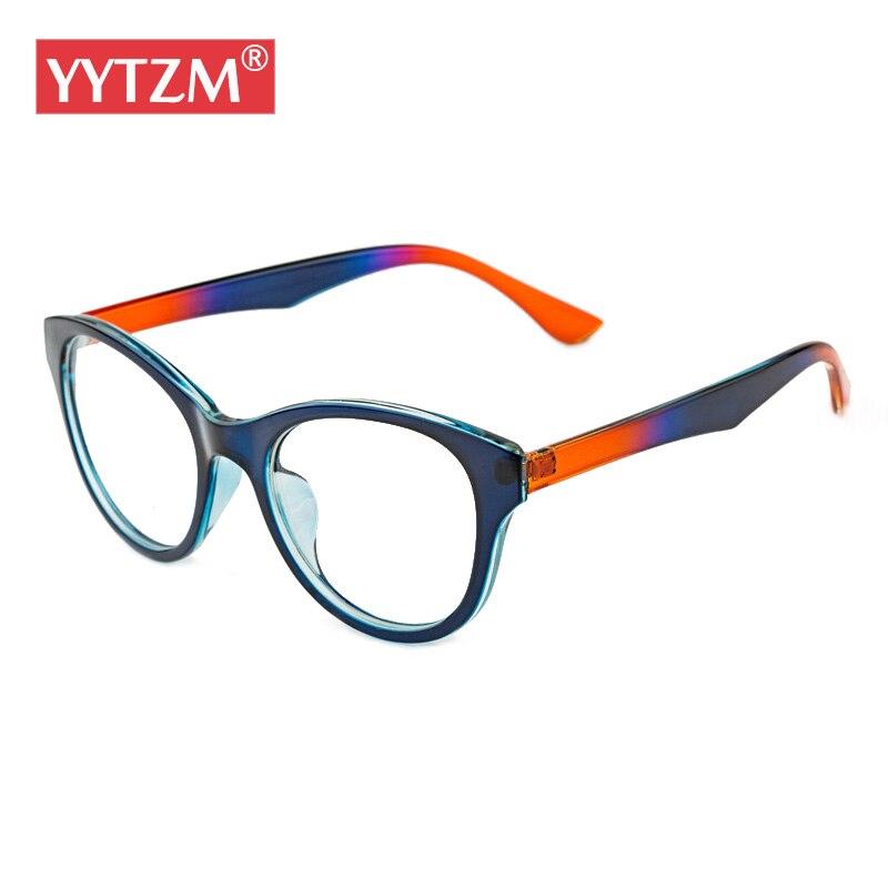 YYTZM marque lunettes femmes De Sucrerie Parti Couleur coloré de Lunettes  femmes lunettes oculos de grau avec lentille claire gasses eye cadre 9977069ca06a