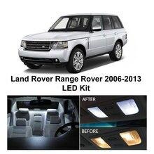 Free Shipping 21Pcs/Lot Xenon White Package Kit LED Interior Lights For Land Rover Range Sport 2006-2013