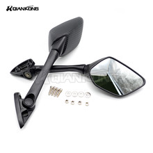 цена на FOR YAMAHA YZF-R25 2014 2015 2016  YZF-R3 r3 2015 2016 2017 High temperature paint Long lever Rear View Mirror Rearview Mirrors