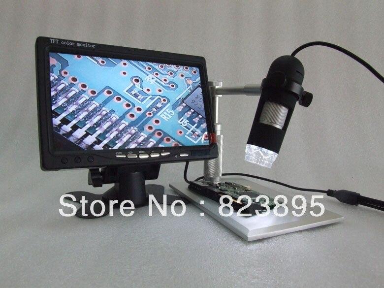 Алюминиевый сплав кронштейн AV 400X HD Digtal микроскоп, А. В. кпк эндоскопа камерой, адаптироваться к ТВ, ЖК-монитор