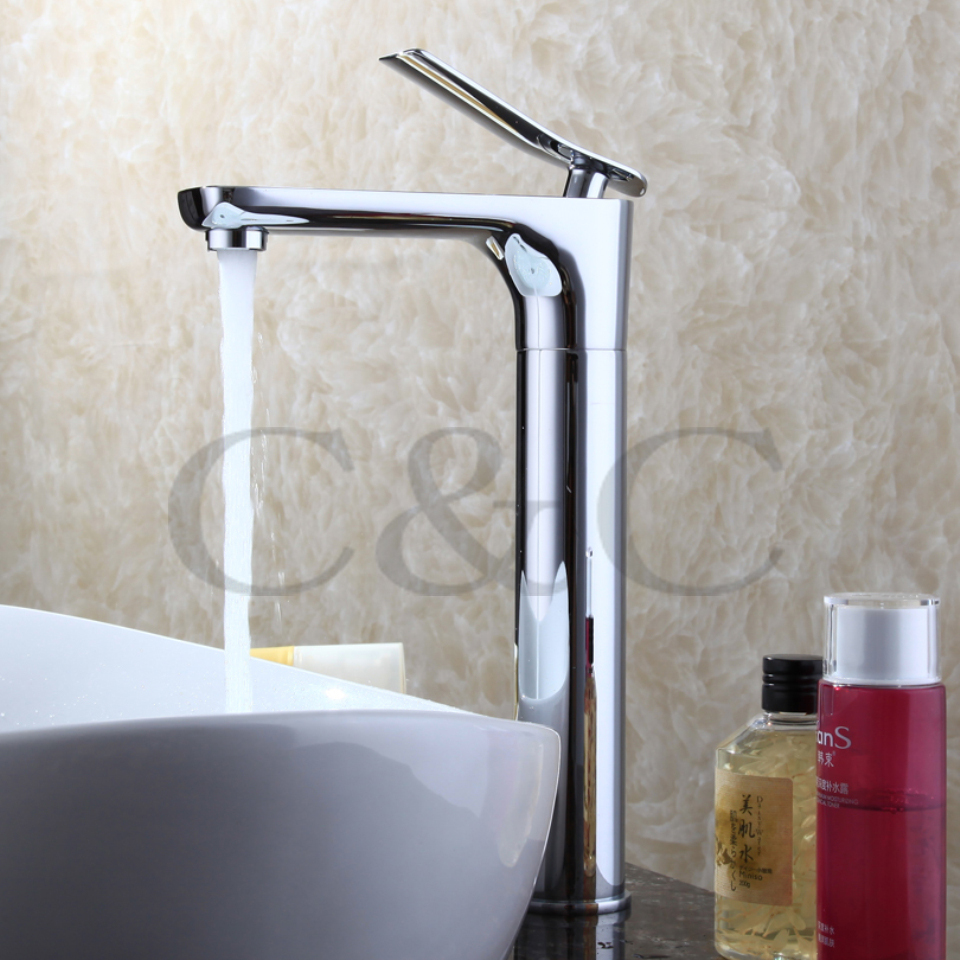Free Shipping Luxury 360 Degree Rotation Brass Chrome Single Handle Bathroom Sink Faucet Mixer Tap Basin Faucet  5102 niko 50pcs chrome single coil pickup screws