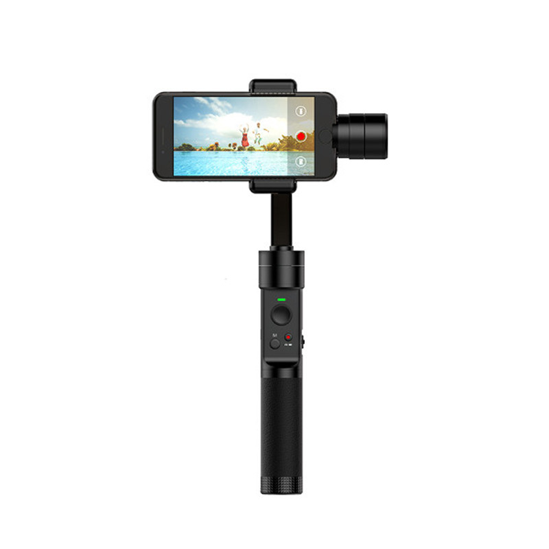 Insvision M 3-Axis Handheld Gimbal Stadilizer for 4.5-5.5 Inch Smartphones 320degree Handle Pitch Angle 270degree Rolling Angle yuneec q500 typhoon quadcopter handheld cgo steadygrip gimbal black