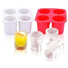 Ice Cube Tray Mold Makers Silicone Freezer for Cream Trays Mould Creative Summer Drinking Cups Color Random