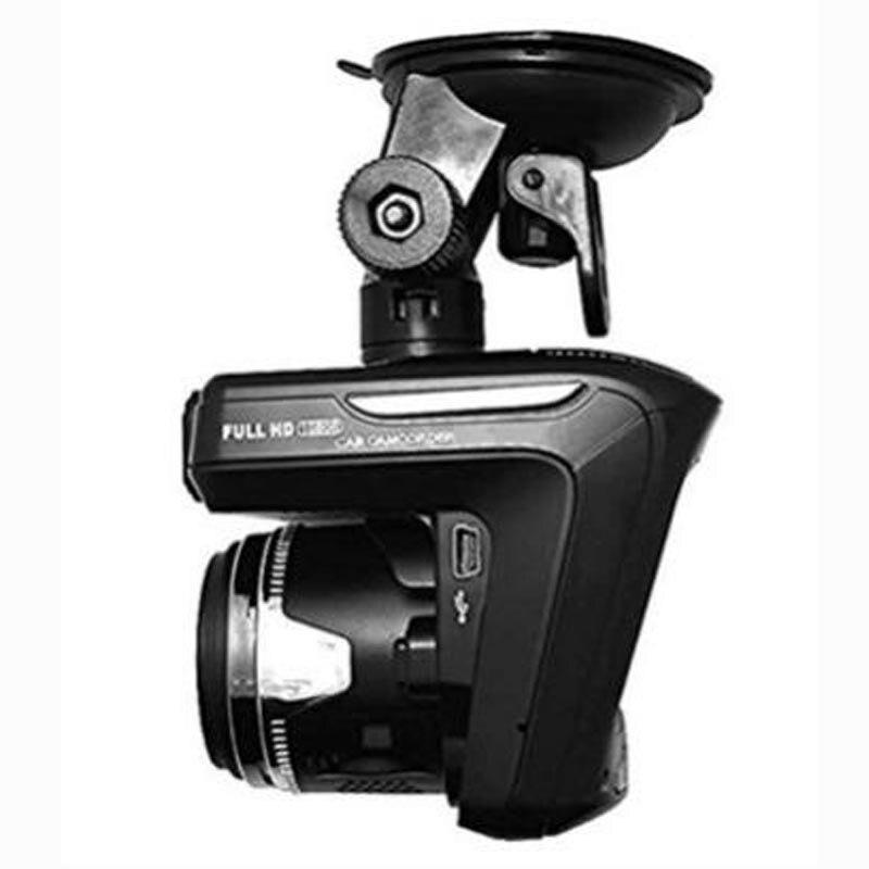 X K ka ku laser G SENSOR Snelheid Richting Tijd 1200W WDR 2.3 Auto DVR Radar Detector 2 in 1 auto detector Camera Full HD 1080P - 5