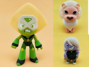 Funko Mystery Minis Steven Universe, modelo de figura de acción coleccionable de vinilo Original de segunda mano, juguete suelto sin caja