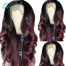 Ombre Lace Front Wig Human Hair Wigs With Baby Hair 13x4/13x
