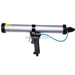 600 ml wurst dichtstoff druckluftpistole pneumatische verteilerpistole ce-zertifizierung pneumatische abdichten tool pneumatic silicon gun