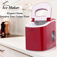 Ice Maker Household Ice Making Machine Small Commercial Ice Maker Milk Tea Shop Ice Machine In