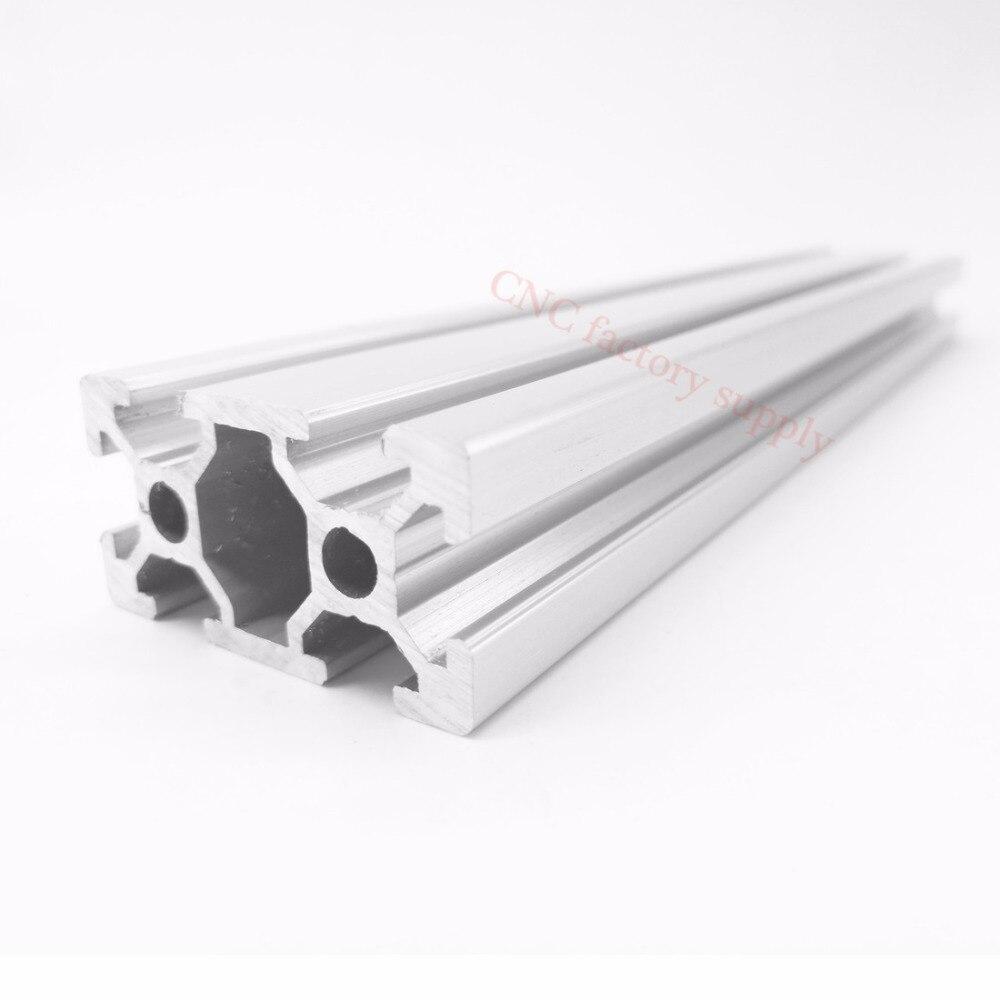CNC 3D принтер части 2040 алюминиевый профиль Европейский стандарт анодированный линейный рельс алюминиевый профиль 2040 экструзии 2040 cnc части