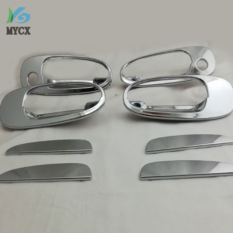 US $18 62 31% OFF|For Toyota Corolla 1996 ae110 ae111 ae112 ABS Chrome Door  Handle Cover Car Accessories Car Styling 8pcs-in Bumpers from Automobiles