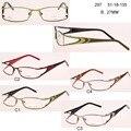 Frete grátis óculos de titânio homens bsuiness óculos óculos armação de oculos Plain Spectacle Frame Silicone ópticos óculos