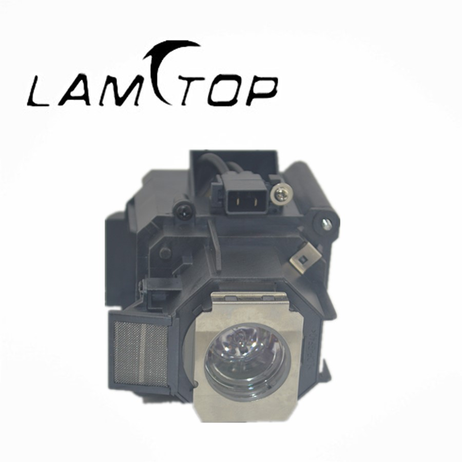 FREE SHIPPING  LAMTOP  180 days warranty  projector lamps with housing  ELPLP63/V13H010L63  for EB-G5650W slovo g ten days