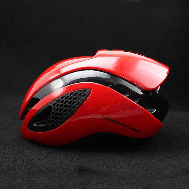 300g Aero TT Bike Helmet  Road bike Cycling Bicycle Sports Safety Helmet Riding Mens Racing In-Mold Time-Trial Helmet