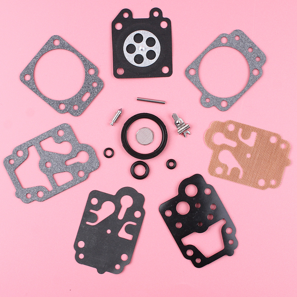 Carburetor Carb Rebuild Repair Kit For Honda GX25 GX35 HHB25 HHH25 HHT35 HHT35S Lawn Mower Engine Part K10-WYJ