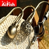 Nordic Retro Style Fashion Hollow U Shaped Curtain Wall Hooks Metal Hook For Coat Hat Hooks