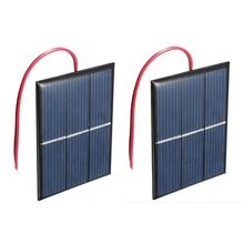 2 pcs 1.5V 400mA 80x60mm Micro-Mini Power Solar Cells For Solar Panels – DIY Projects – Toys – Battery Charger