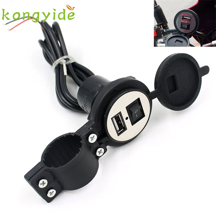 Waterproof 12V To 5V 1 5A Motorcycle Phone font b GPS b font USB Charger Power
