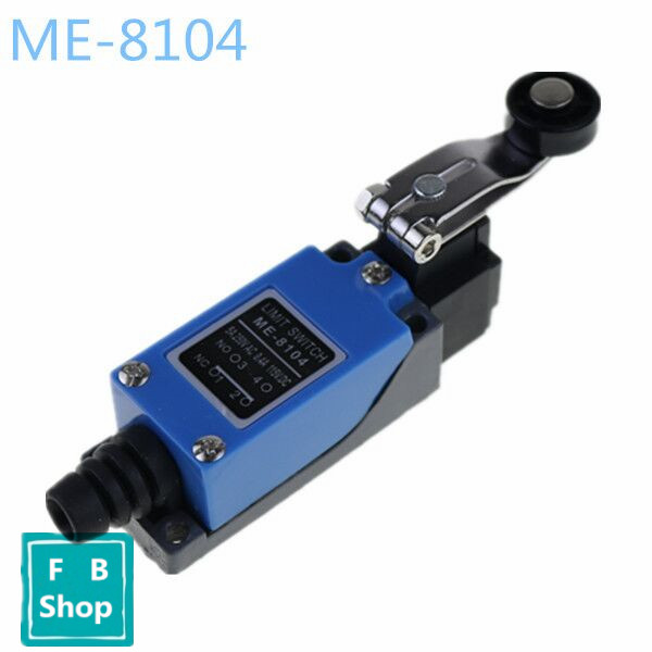 High quality ME-8104 limit switch Limit Switch TZ-8104 Rotary Plastic Roller Arm Limit Switch free shipping Momentary(China)