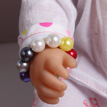 2017 New Doll Accessories Colorful Pearl Bracelet Fit For Americal Girls 43cm Doll Baby Born Zapf
