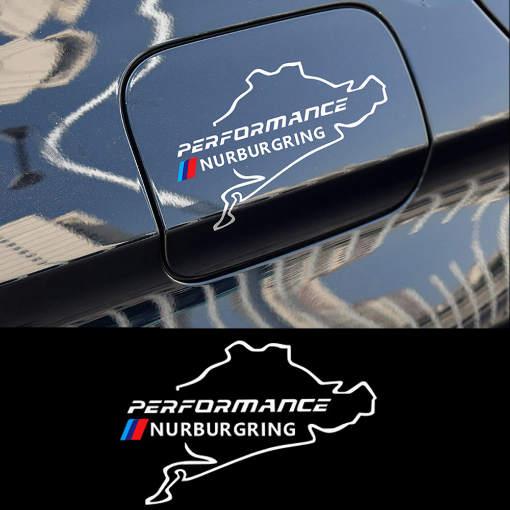 M Performance Racing Track Whole Body <font><b>Sticker</b></font> Car Fuel Tank Cap Decals For BMW <font><b>F20</b></font> F30 F10 E90 E36 E46 E39 E60 X5 image
