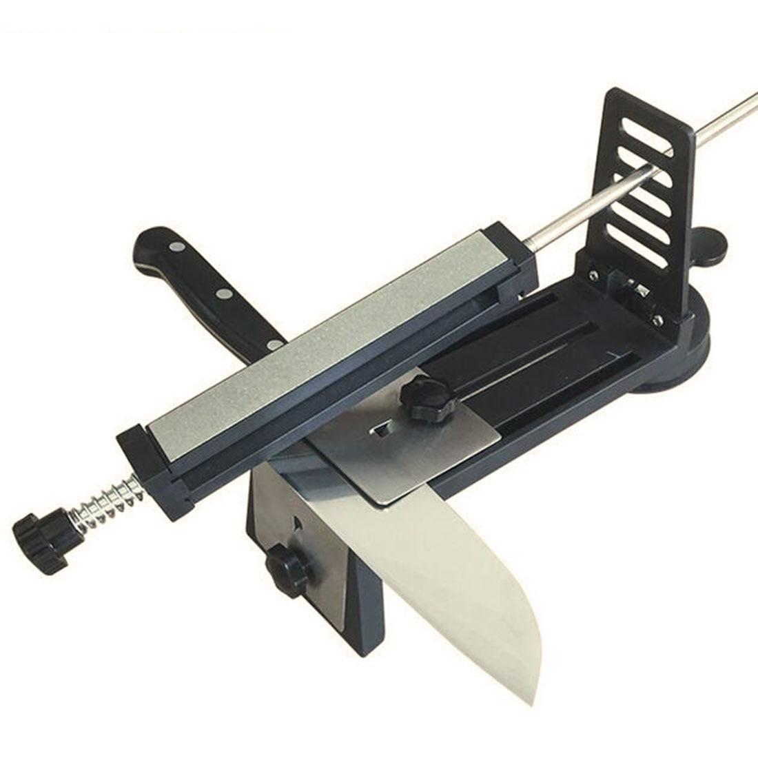 "5.9"" Kitchen Knife Sharpener Diamond Whetstone Coarse Middle Fine Polishing Grinding 400# 500# 600# 1000# Grit Smooth Stone"