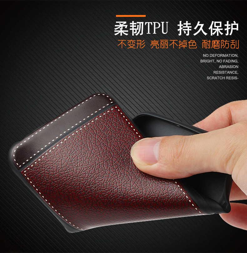 Чехол для Huawei Honor 6X PU зернистая кожа Мягкий ТПУ чехол для Huawei gr5 2017 mate 9 Lite 6X4G LTE чехол