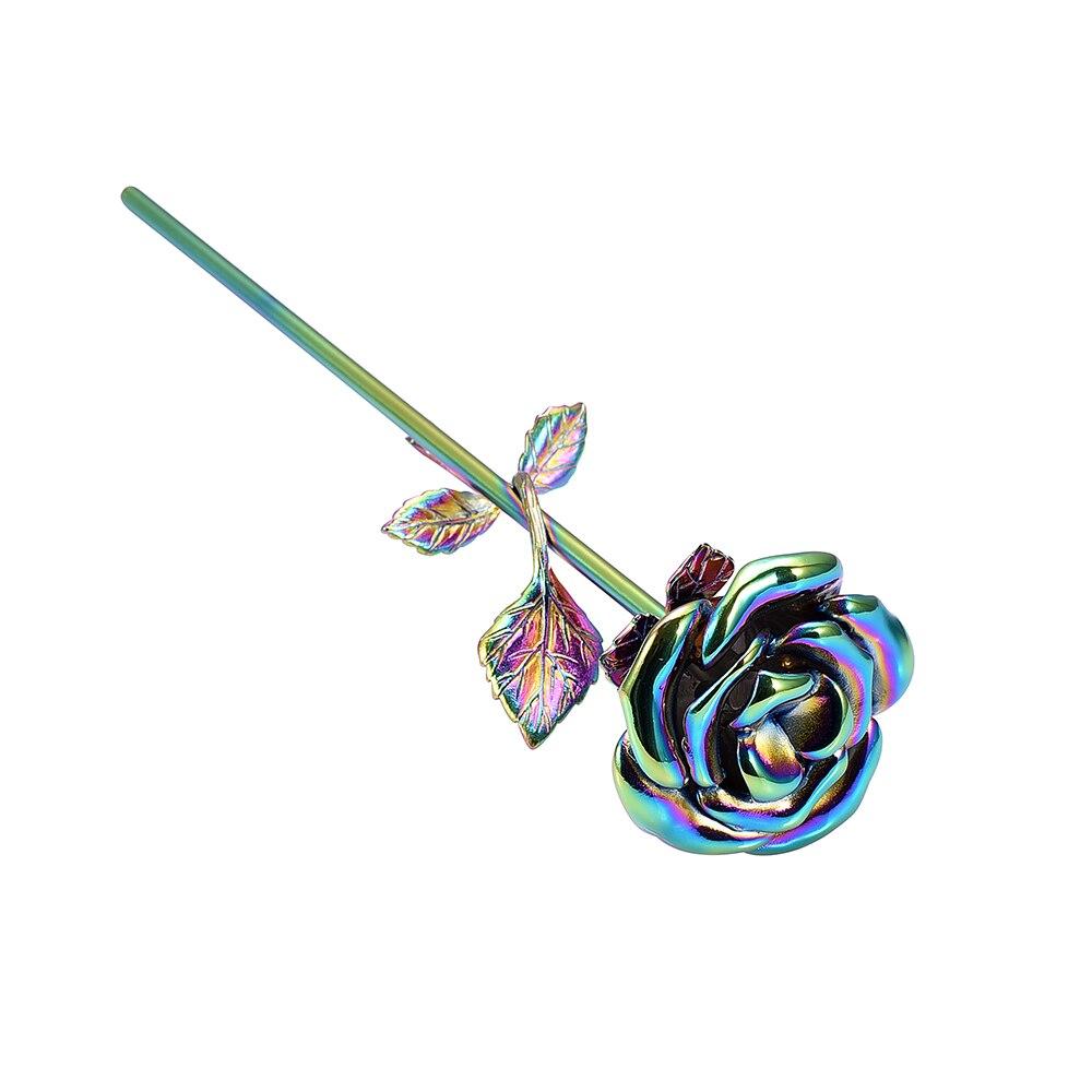 Rainbow Flower Urn