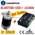 Набор продаж Leadshine BLM57130 бесщеточный Серводвигатель постоянного тока и ACS606 сервопривод и датчика расширение кабель и RS232 тюнинг кабель