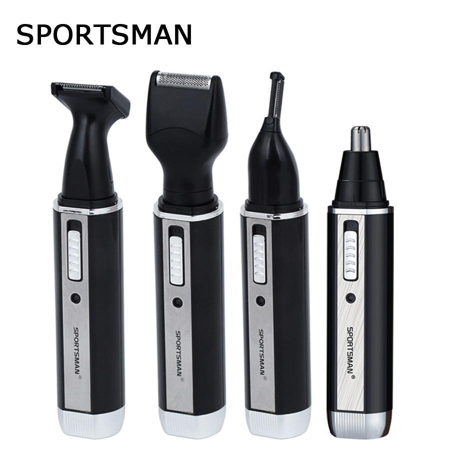 buy 4 in 1 eyebrow nose hair trimmer for men beard ear profe. Black Bedroom Furniture Sets. Home Design Ideas