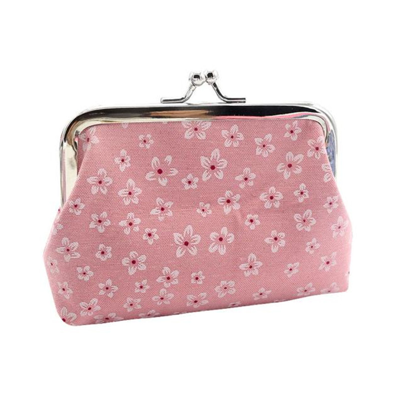 Casual Hot Sale Attractive Elegant Women Fashion Retro Flowers Wallet Card Holder Coin Purse Clutch Handbag DropShipping casual weaving design card holder handbag hasp wallet for women