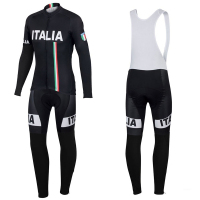 2017 Italy Men S Long Sleeve Cycling Jersey Spring Autumn Bib Pants Pro Team Racing MTB