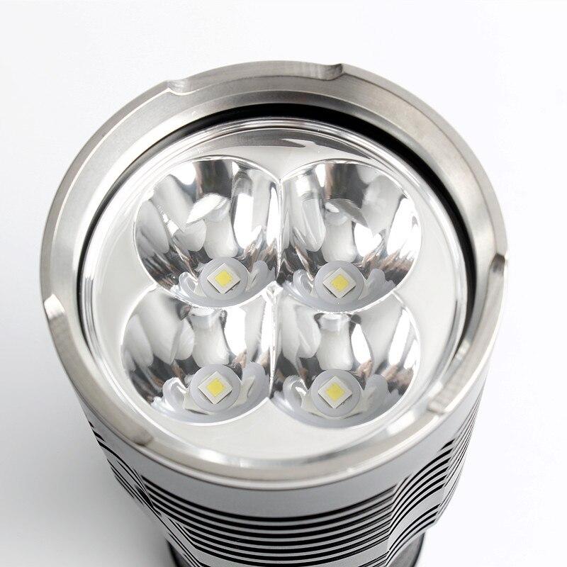 Date Sofirn Q8 4 * XPL SALUT 5000LM Puissant lampe de poche led 18650 Multiples Fonctionnement Procédure torche super lumineuse IPX8 - 6