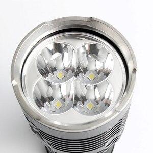 Image 5 - Новейший Sofirn Q8 4 * XPL HI 5000LM мощный светодиодный фонарик 18650 многократная процедура работы супер яркий фонарь IPX8