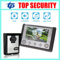 Good quality 7 inch video door phone system door access control system color screen video doot intercom wired door bell intercom