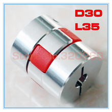 5pcs גמיש לסת עכביש זיף מצמד פיר צימוד D30 L35 5/6/6.35/7/8/9/9.525/10/11/12/12.7/14/15/16mmshaft couplingcoupler shaft couplingscoupler shaft