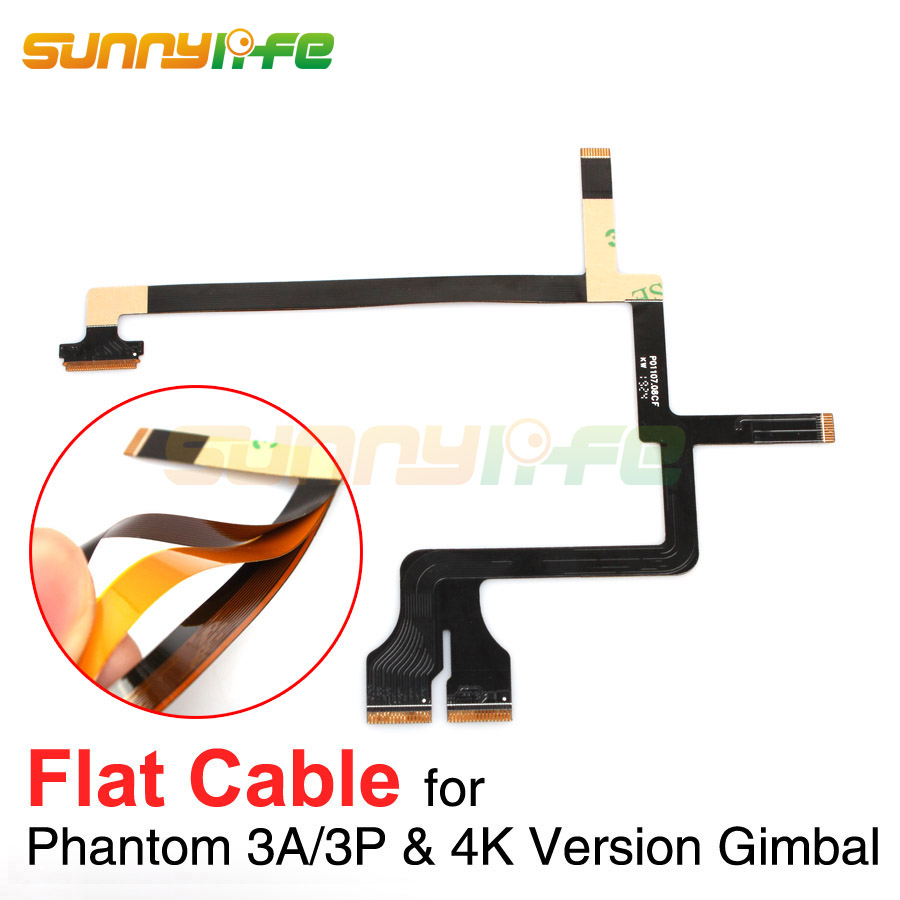 Phantom 3 Gimbal Flat Cable Repairing Use Flat Wire for DJI Phantom 3 Advanced Professional 4K Version Gimbal Ribbon