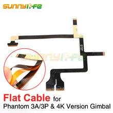Phantom 3 карданный плоский кабель Ремонт Применение без каблука Провода для DJI Phantom 3 advanced Профессиональный 4 К версия Gimbal ленты