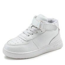 Zapatos informales para niños y niñas, zapatillas de cuero, resistentes al agua, color negro y rojo, 2019