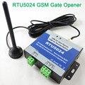 Envío libre RTU5024 Rodillo Abridor De Puerta GSM Abridor de Puerta en casa gsm remoto de control de acceso gsm Buenos ganancia antena imán App apoyo