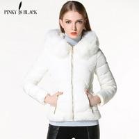2015 Autumn And Winter Jacket Women Coat Parka Fur Collar Large Size Women Down Cotton Padded