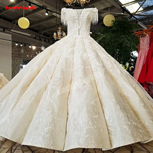 21401 Off Shoulder Wedding Dress Heavy Beading Bridal Gown