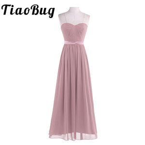 Image 1 - Dusty Rose Mooie Geplooide Hoge Taille Bruidsmeisje Jurk Elegante Prachtige Sexy Strapless Lange 2020 Nieuwe Collectie Wedding Party Dress
