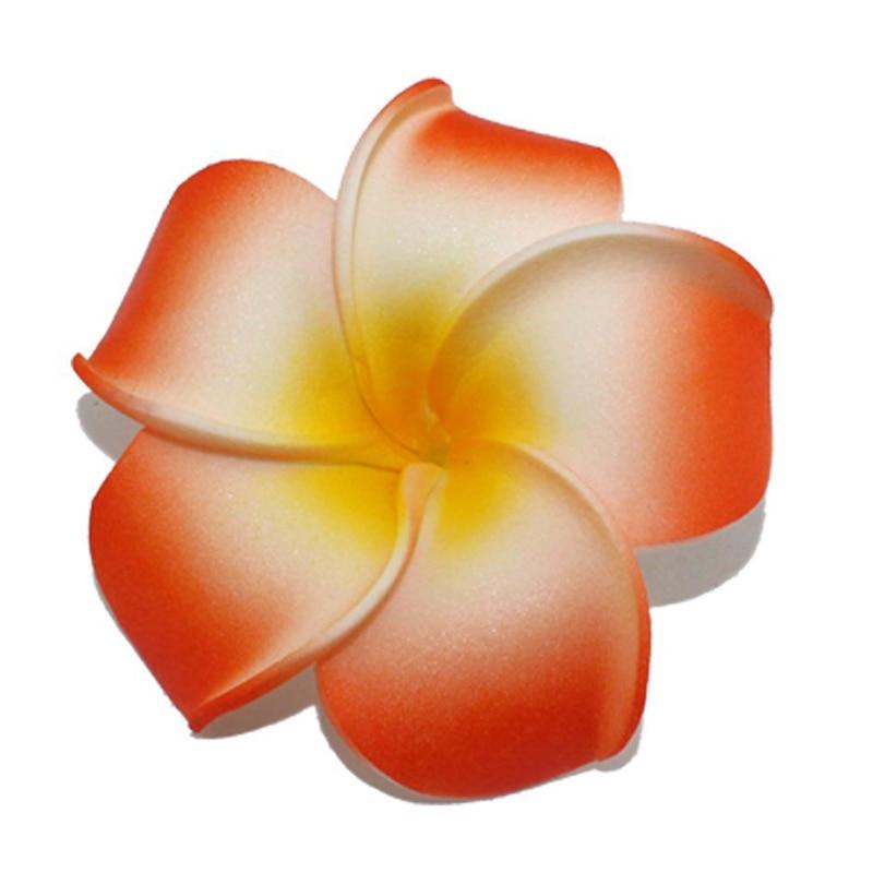 10PCS Artificial Multicolor Frangipane Egg Flower heads PE foam DIY Home Decoration