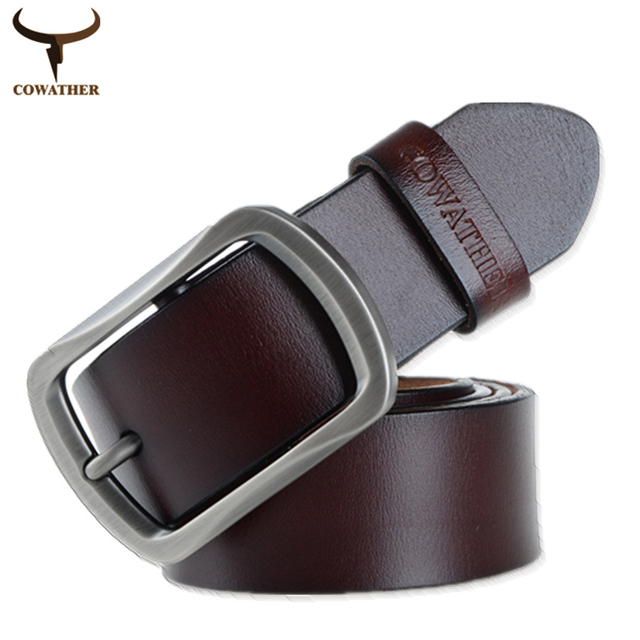 100% Genuine Leather Classic Belt For Men